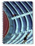 A Stadium Workout Spiral Notebook