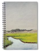 A Stream At Springtime Spiral Notebook
