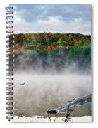 Sunrise Fog Landscape Spiral Notebook