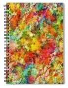 A Trick Of The Light Spiral Notebook
