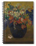 A Vase Of Flowers  Spiral Notebook