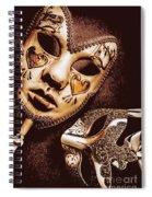 A Venetian Affair Spiral Notebook