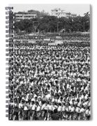 A Very Large Event Spiral Notebook