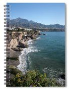 A View From A Balcony Spiral Notebook