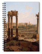 A View Of The Forum Romanum Spiral Notebook