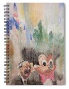 A Walk With Walt Spiral Notebook