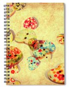 A Weathered Tailors Abstract Spiral Notebook