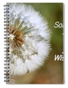 A Weed Or Wish? Spiral Notebook