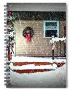 A Wisconsin Christmas Spiral Notebook