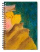 A Woman In A Fur Spiral Notebook