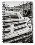 Abandoned Ghost Town Studebaker Truck Spiral Notebook