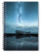 Abandoned In Iceland Spiral Notebook