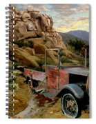Abandoned In The Desert Spiral Notebook