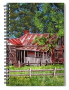 Abandoned Old Farm House Spiral Notebook