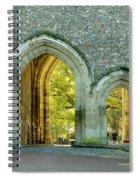 Abbey Gateway St Albans Hertfordshire Spiral Notebook