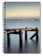 Aberdour Pier Spiral Notebook