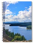 Above The Waters Spiral Notebook