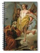 Abraham Y Los Tres Angeles  X   Cm  Spiral Notebook