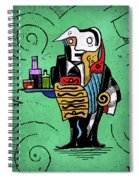 Absinthe Spiral Notebook