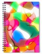 Abstract G1 Spiral Notebook
