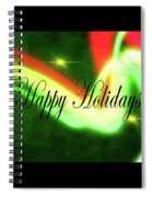 Abstract Holiday Spiral Notebook
