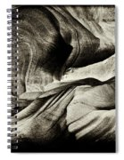 Abstract In Sandstone Slots Spiral Notebook