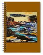 Abstract Nature Spiral Notebook