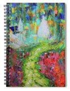 Abstract Paris Street Spiral Notebook