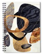 Abstract Pebbles IIi Spiral Notebook