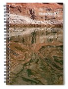Abstract Reflections On Lake Powell Spiral Notebook