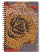 Abstract Rose 745 Spiral Notebook