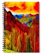 Abstract Scenic 3 Spiral Notebook