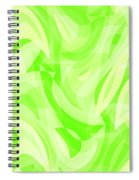Abstract Waves Painting 0010076 Spiral Notebook