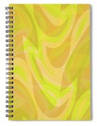 Abstract Waves Painting 0010091 Spiral Notebook