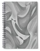 Abstract Waves Painting 0010119 Spiral Notebook