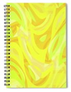 Abstract Waves Painting 0010121 Spiral Notebook