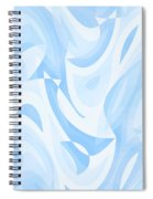 Abstract Waves Painting 007182 Spiral Notebook