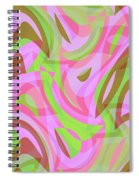 Abstract Waves Painting 007188 Spiral Notebook