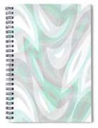 Abstract Waves Painting 007194 Spiral Notebook