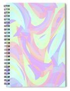 Abstract Waves Painting 007205 Spiral Notebook