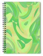 Abstract Waves Painting 007216 Spiral Notebook