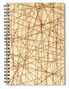 Abstract Web Background Spiral Notebook