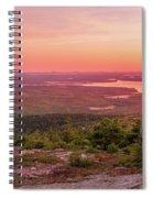 Acadia National Park Sunrise  Spiral Notebook