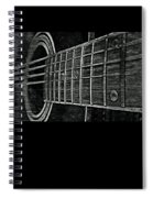 Acoustic Guitar Musician Player Metal Rock Music Strings Spiral Notebook
