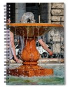 Acqua For Marcus Spiral Notebook