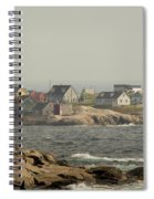 Across The Bay Spiral Notebook