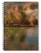 Across The Water Spiral Notebook