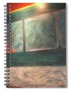 Painting On The Wall Spiral Notebook
