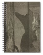 Actresses In Their Dressing Rooms Spiral Notebook