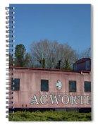 Acworth Ga Spiral Notebook